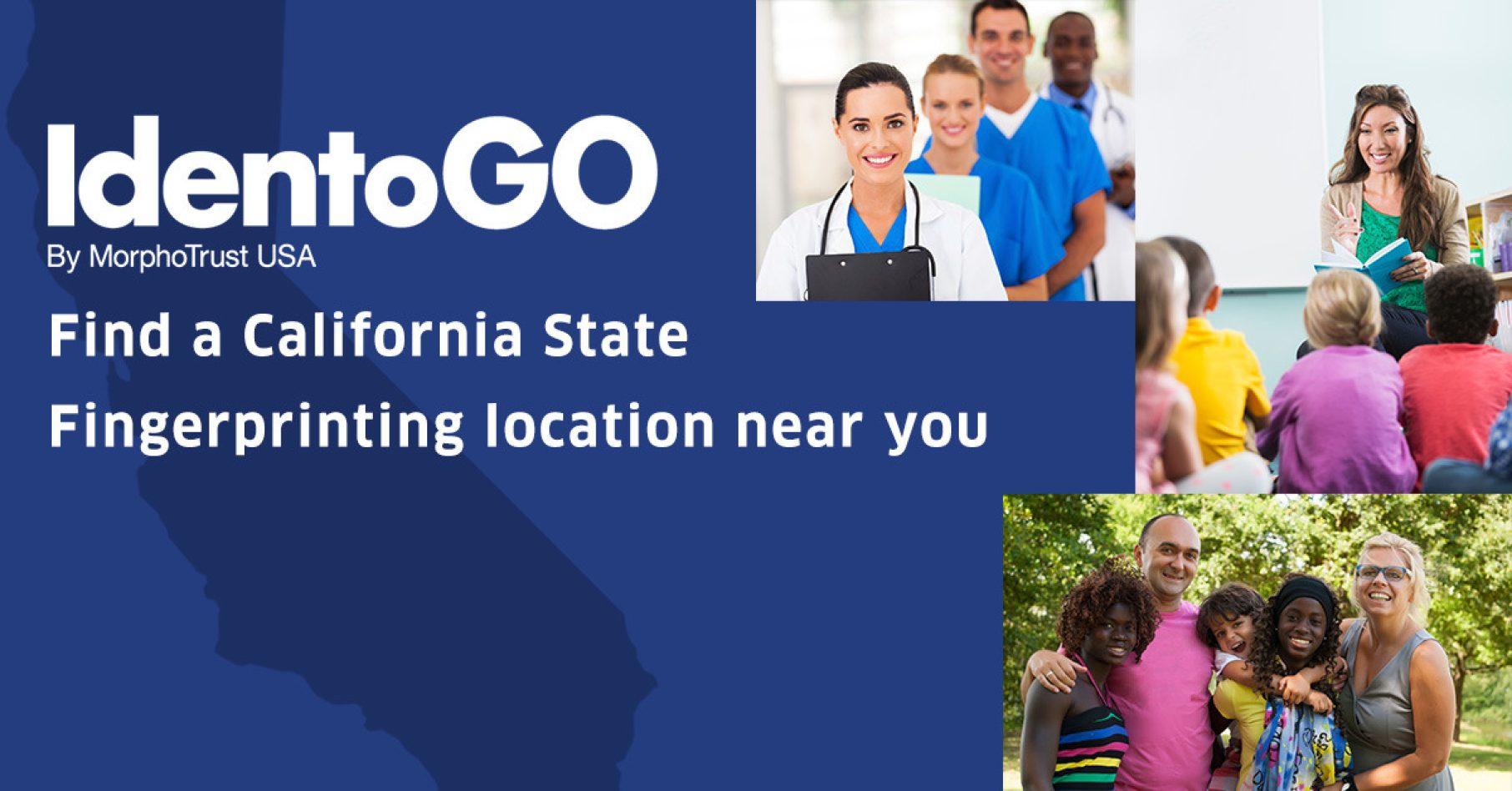 California State Fingerprinting | Identogo